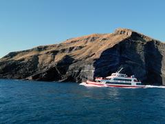 【牛島遊覧船(ソンサンポ遊覧船)】海から眺める牛島の景色