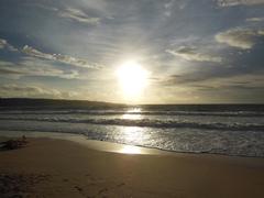 【イカン・バカール】ジンバランビーチは人気の夕日スポット