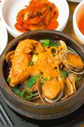 【サムボ食堂】絶品スープのトコブシ鍋
