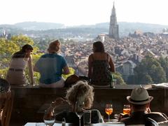 【ローゼンガルテン】ベルン旧市街を眺めつつのんびりしたい