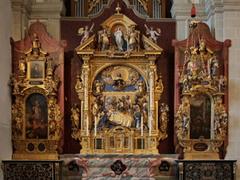 【ホーフ教会】美しいマリアの祭壇