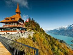 【ハルダー・クルム】山頂レストランとトゥーン湖