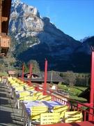 【ホテル・レストラン・グラシエ】夏のランチタイムはテラス席が人気
