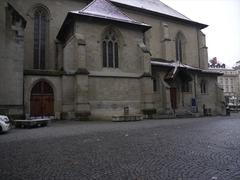 【聖フランソワ広場】聖フランソワ教会前の広場