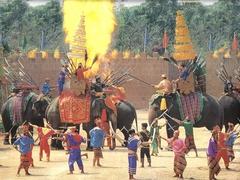 【サンプラーン・エレファント・グランド・アンド・ズー】象のショーは迫力満点だ