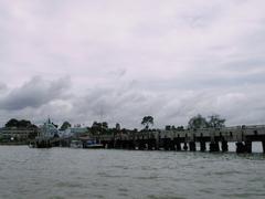 【バーン・ペー桟橋】サメット島に向かう基点となる