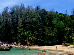 【バンタオ・ビーチ】心地の良い落ち着いたビーチ。