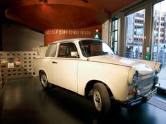 【DDR博物館】東ドイツ製の車トラバント