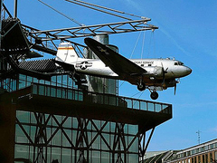 【ドイツ技術博物館】屋上の飛行機が目印のドイツ技術博物館