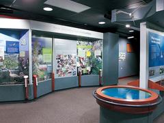 【キラウエア・ビジター・センター】ビジター・センターは公園入口からすぐ