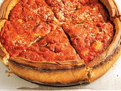 【ジョルダーノス】ディープディッシュピザ