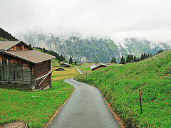 【ブルーメンタール(花の谷)】見晴らしのいいハイキングコース
