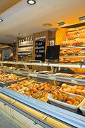 【ベーカリー・ビストロ・フックス ゲトウィングシュトラッセ店】おいしそうなパンがいっぱい