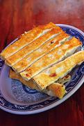 【張記鍋貼 牛肉麺】焼き餃子