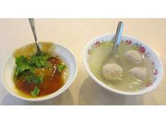 【台中肉圓(タイチュウニクエン)】スープと合わせてオーダーするのが通!?