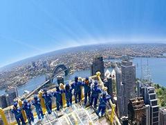 【シドニー・タワー・スカイウォーク】上から見渡すシドニー