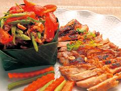 【キンナリー】伝統的なタイ料理に一工夫加えたメニューが多い