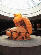 【UBC人類学博物館】有名な作品のひとつ