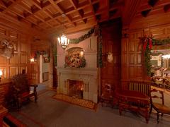 【クレイダーロック城】邸内の装飾も見ごたえがある