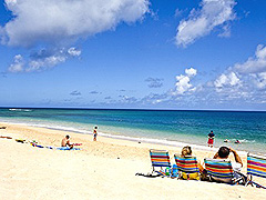 【サンセット・ビーチ】観光客の少ない静かなビーチ