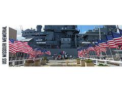 【戦艦ミズーリ号記念館】第二次世界大戦の終結の舞台となった戦艦ミズーリ記念館