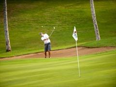 【コ・オリナ・ゴルフ・クラブ】のんびりとした雰囲気の中難関プレーを楽しんで