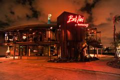 【バリ・ハイ・レストラン】円形の独特な建物が印象的