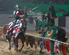【メディーバル・タイムス・ディナー・アンド・トーナメント】馬上の騎士たちの戦い