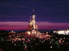 【ディズニーランド・パリ】とりわけ美しい夜のライトアップ@Disneyland Paris