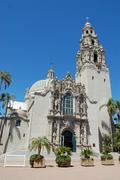 【サンディエゴ人類博物館】そびえ立つ塔のような建物が特徴的