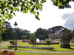 【タボール庭園】10ヘクタールの土地にフランス式庭園、植物園、バラ園がある