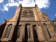 【サン・ヴァンサン大聖堂】ステンドグラスも見所