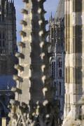 【サントゥーアン教会】尖塔はノルマンディの王冠とよばれる