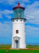 【キラウエア・ライトハウス】美しく修復された灯台の周囲は野鳥保護区に指定されている