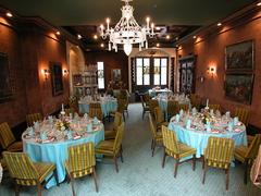 【オールド・スイス・ハウス】リッターサール(騎士の部屋)は特別なパーティーに最適