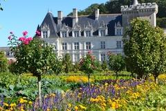 【ヴィランドリー城】花に囲まれる城