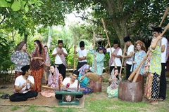 【マスリ王女の墓】当時の島民の生活を伝える
