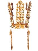 【国立慶州博物館(コクリツケイシュウハクブツカン)】美しい鳳凰の装飾が見事な金冠