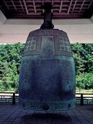 【国立慶州博物館(コクリツケイシュウハクブツカン)】入口から右手正面にある聖徳大王神鐘