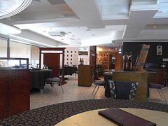 【紅毛港海鮮餐廳(コウモウコウカイセンサンチョウ)】レストランの内装、高雄高級海鮮料理レストラン