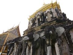 【ワット・チェンマン】チェンマイ最古の寺院