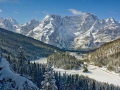 【ミズーリナ湖】冬の景色
