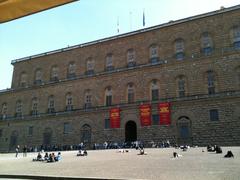 【パラティーナ美術館】美術館はピッティ宮殿内にある