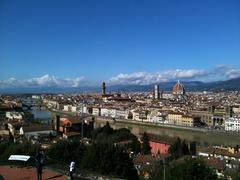 【ミケランジェロ広場】世界遺産であるフィレンツェを一望できる