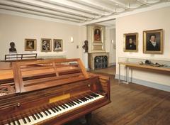 【ベートーベンの家】ベートーベンの親戚などが紹介されている展示室