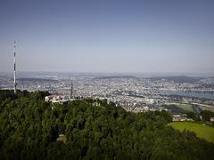 【ウト・クルム/ユェトリベルク】チューリッヒを見下ろす抜群の展望