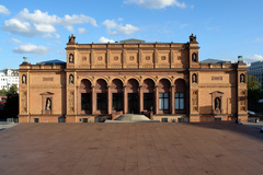 【ハンブルク市立美術館】ハンブルク市立美術館の旧館の建物