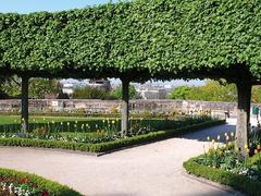【カイザーブルク城】カイザーブルグの庭園、ブルグガルテン