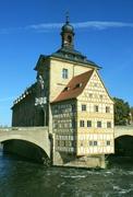 【旧市庁舎】1460年代に建てられ、18世紀に改築された
