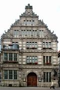 【ネズミ捕り男の家】1602年に建てられたネズミ取り男の家の外観